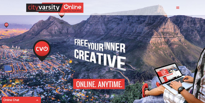 CityVarsity Online website