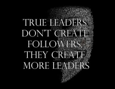 true leaders quote